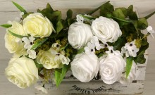 Kytica ruža doplnky x10JX191198-CR