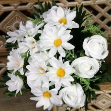 Kytica ruža margaretka x18 JX191233-CR
