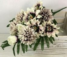 Kytica dália ruža chryzantéma x12 JX2102